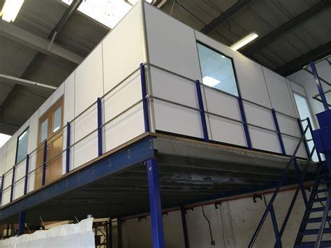 office build  mezzanine floor commercial refurbishment