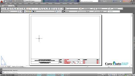 Autocad Untuk Teknik Modula cara mencetak atau plotting gambar pada autocad 2014 cara autocad