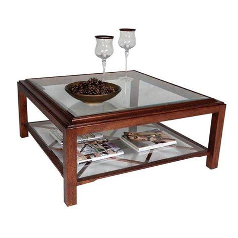 salontafel landelijk glas landelijke meubel collectie in eiken lexington avenue