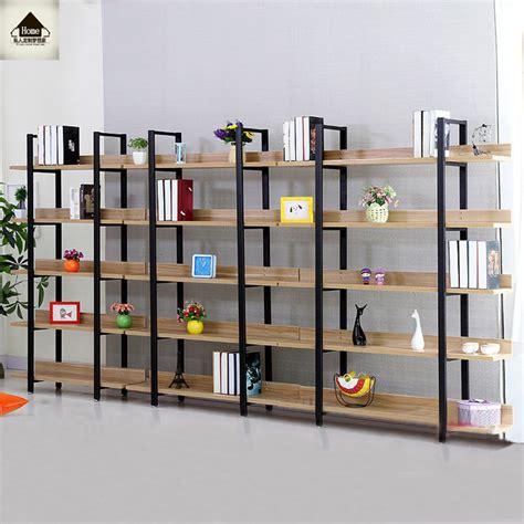 Rak Buku Besi Ikea retro amerika rak buku kayu rak rak buku ikea ruang lantai kolom display rak penyimpanan rak