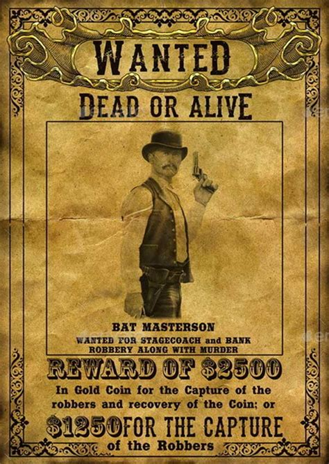 23 Best Wanted Poster Template Psds To Download Wanted Poster Powerpoint