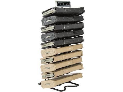 Ar 15 Gun Rack by Lockdown Ar 15 Mag Rack Organizer Vinyl Coated Steel