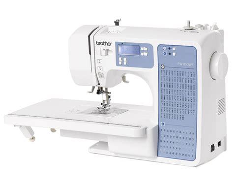 tavolo per macchina da cucire macchina da cucire elettronica fs100wt