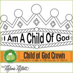 i am a child of god coloring page i am a child of god crown homeschool