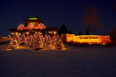 wi lights light show light display in lake geneva wi