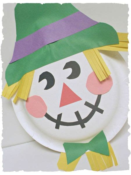 Paper Plate Scarecrow Craft - paper plate scarecrows our fit4mom corona