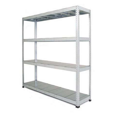 galvanised heavy duty warehouse shelving with steel