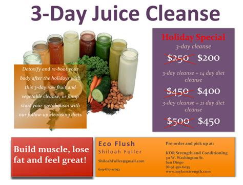 3 Day Fruit And Vegetable Detox by 3 Day Juice Cleanse Kor Strength And Conditioning