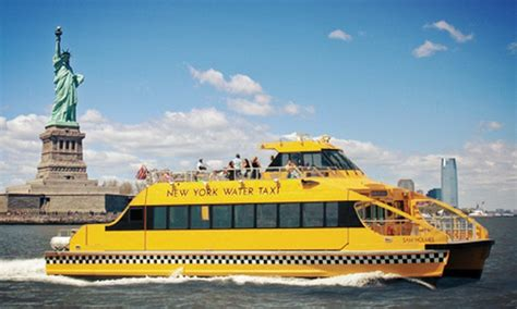boat ride seaport nyc harbor boat ride new york water taxi groupon