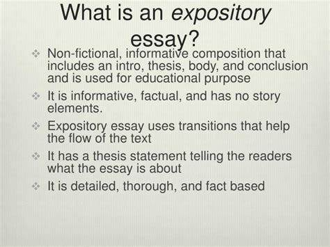 expository essays sles write cv work experience cover letter exles for high