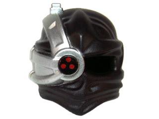 Lego Part Headgear Helmet Wrap Ninjago Headwrap bricker деталь lego 15616pb01 minifig headgear ninjago wrap with silver cyborg eyepiece