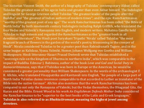 tulsidas biography in english pdf goswami tulsidas ramcharitmanas ramayana