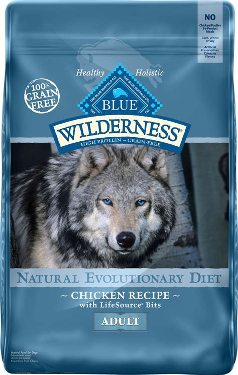 blue buffalo grain free food blue buffalo wilderness chicken recipe grain free food 24 lb bag chewy