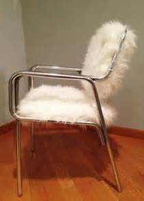 custom made faux fur chair by remix design custommade