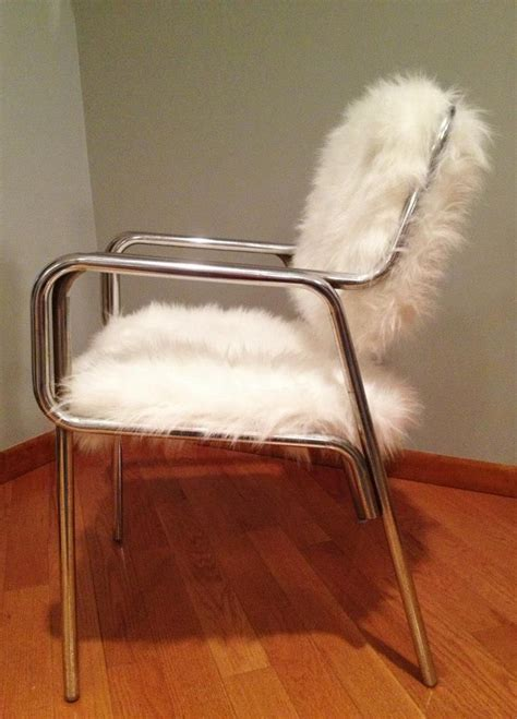 Faux Fur Chairs by Custom Made Faux Fur Chair By Remix Design Custommade