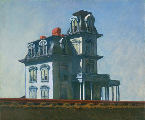 the modern light house service classic reprint books file the house by the railroad by edward hopper 1925 jpg