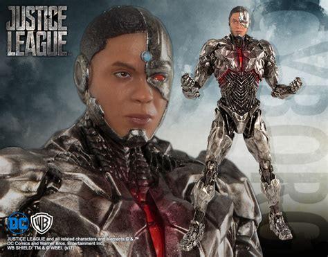 justice league film cyborg dc comics justice league movie cyborg artfx pvc statue