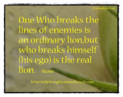 day in meaning thought for the day of rumi with meaning one who breaks