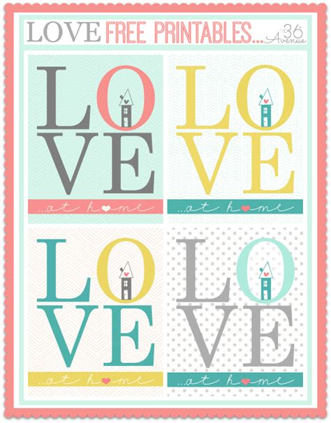 free printables free printable the 36th avenue