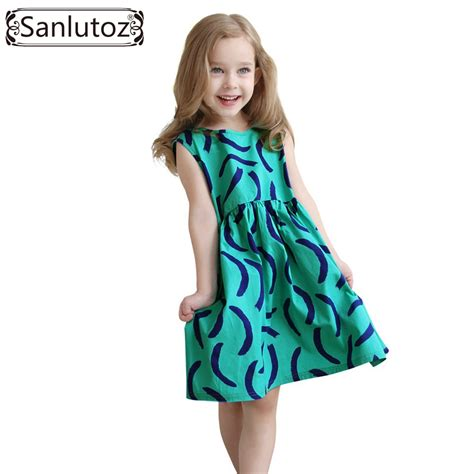 aliexpress girl clothes aliexpress com buy sanlutoz girls dress summer 2016 kids