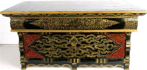 buddhist altar table buddhist altar table painted with auspicious symbols