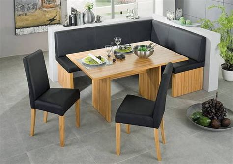 corner kitchen table and bench set corinna white black leather dining set kitchen booth