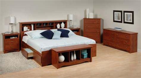 King Size Bookcase Headboard Sonoma King Size Bed Bookcase Headboard Cherry New Ebay