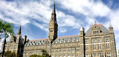 Georgetown Mba Evening Lawyer by Academics Georgetown