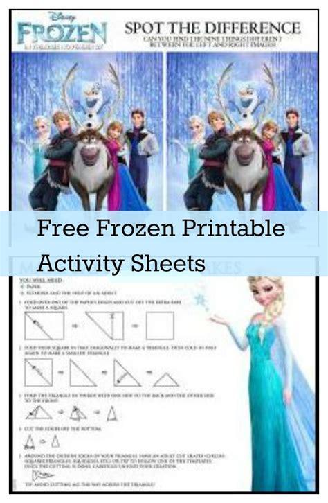 film frozen gratis streaming frozen free printable activity sheets snowflakes