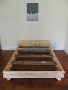 Bed Frame Diy Ideas 1000 Ideas About Diy Bed Frame On Diy Bed