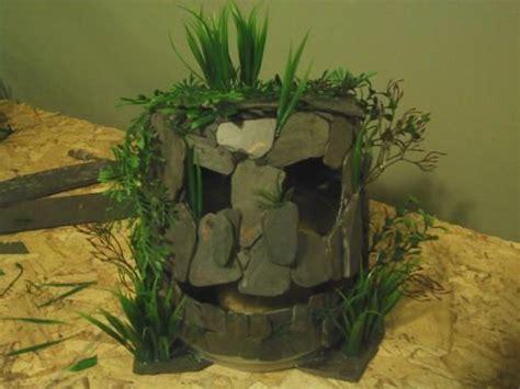 aquarium design using slate monster fish cave made from slate tiles fish aquariums