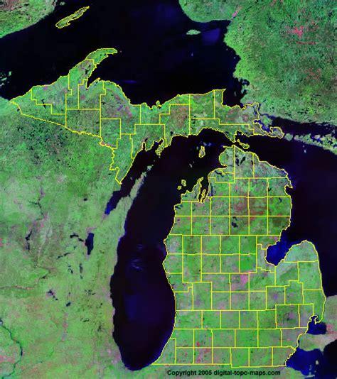 Of Michigan Finder Michigan County Map Mi Counties Map Of Michigan