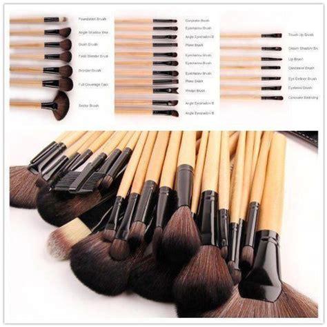 brown makeup brushes set 24pc brush set makeup