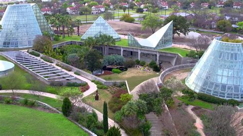 san antonio landscape trenching storybook houses at the san antonio botanical gardens