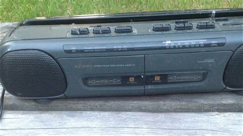 cassette player boombox my new lloyd s cassette player recorder am fm