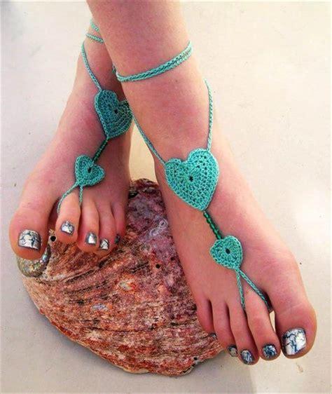 barefoot sandals crochet 20 barefoot crochet sandals pattern ideas diy to make