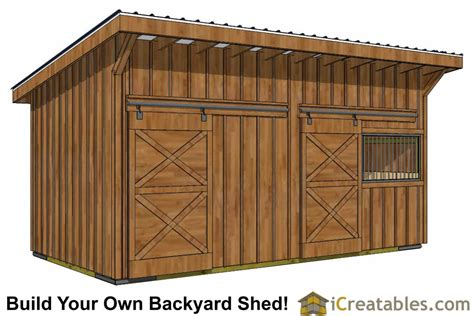 horse barn plans  wood foundation