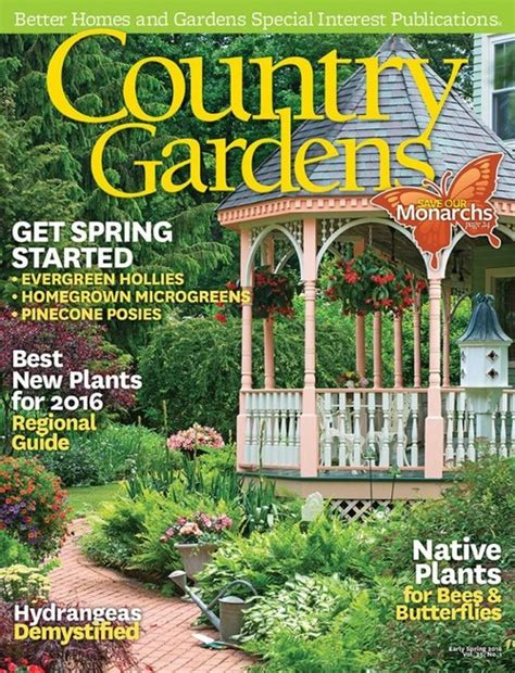 Home Decorating Magazine Subscriptions by Country Gardens Magazine Subscriptions Renewals Gifts