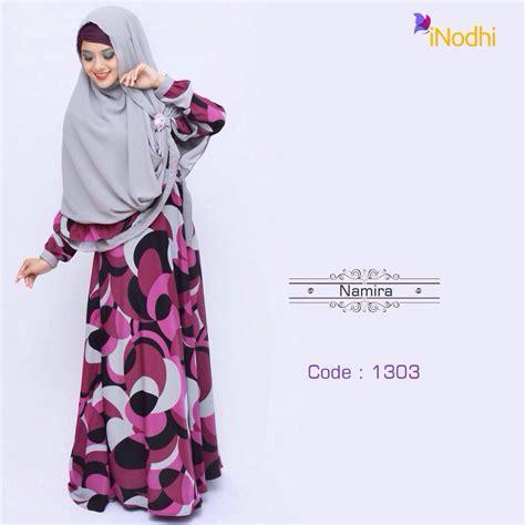 Gamis Syari Namira namira series 1303 baju muslim gamis modern