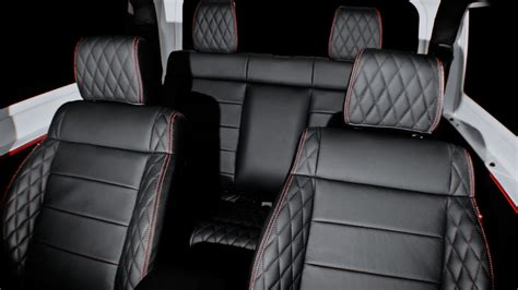quilted leather seats jeep kahn design s new wrangler jeep edition won t be