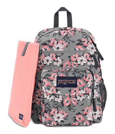 Ransel Mini Jansport Black Flower digital student backpack laptop backpacks jansport