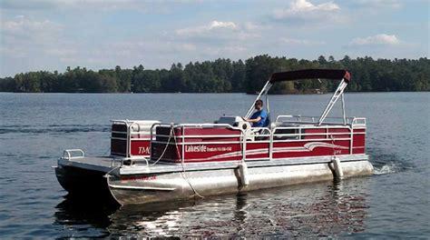 minocqua boat rentals pontoon rentals minocqua lakeside boat rental storage