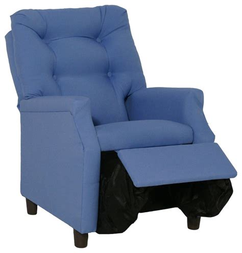 Reclining Accent Chairs by Blue Deluxe Recliner Modern Armchairs And Accent Chairs