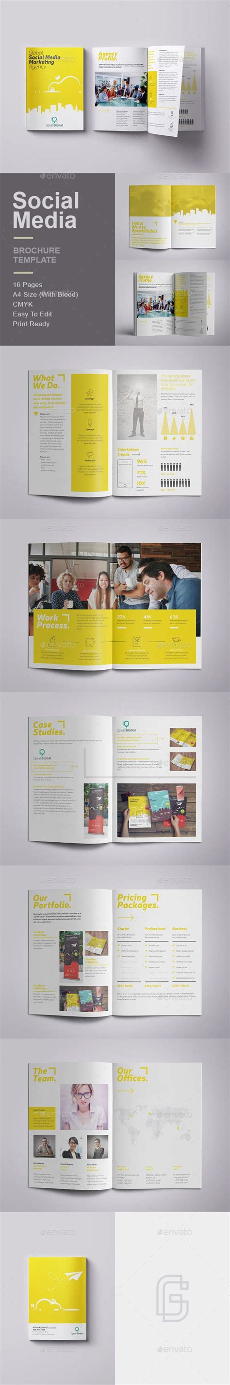 social media brochure template top 25 ideas about brochure design on phlet design booklet design and brochures