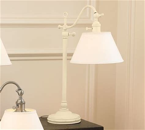 Vintage Bedroom Lighting Adair Bedside L Set Of 2 Distressed Antique White Traditional L Sets By Pottery Barn