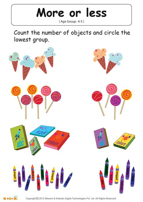 more or less worksheets more less same math worksheets greater or lesser equal worksheets activity sheets for