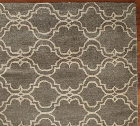Pottery Barn Scroll Rug Scroll Tile Rug Gray Pottery Barn
