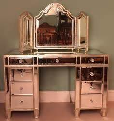 black and rose gold dresser dressing table with mirror on 170 pins