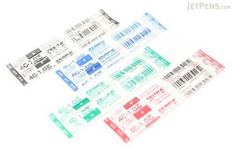 2 Ballpoint Sarasa 0 7 1 Reffil Blue zebra 4c 1 0 ballpoint pen refill d1 1 0 mm blue