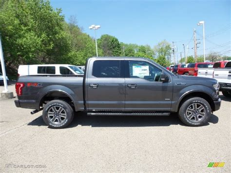 2015 f150 colors 2015 magnetic metallic ford f150 lariat supercrew 4x4